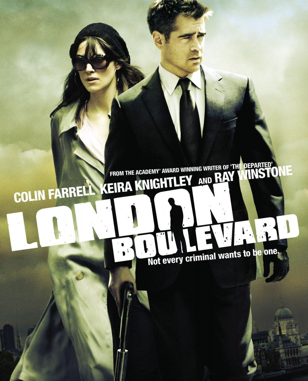 Poster Of London Boulevard (2010) Full Movie Hindi Dubbed Free Download Watch Online At worldfree4u.com