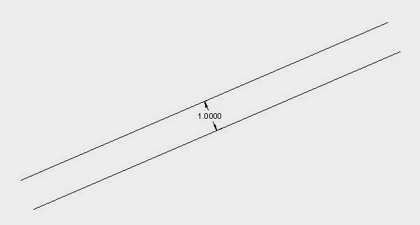 AutoCAD TUTORIAL: Chapter 2 Drawing tools > Offset command
