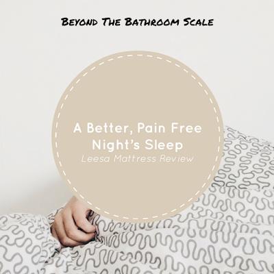 A Better, Pain Free Night's Sleep - Leesa Mattress Review