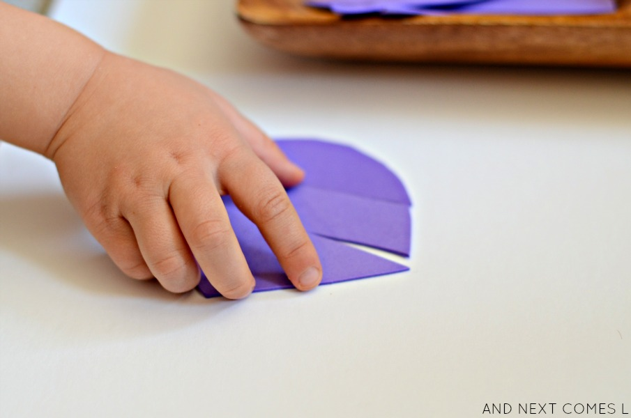 Easy tangram puzzles that you can make for kids