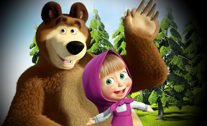Gambar DP BBM Foto Lucu Masha And The Bear | Caption ...