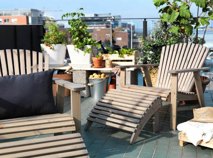 roxö deck chair