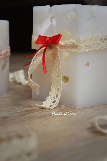 Candele effetto ghiaccio fai da te: idea regalo, decorazione casa.