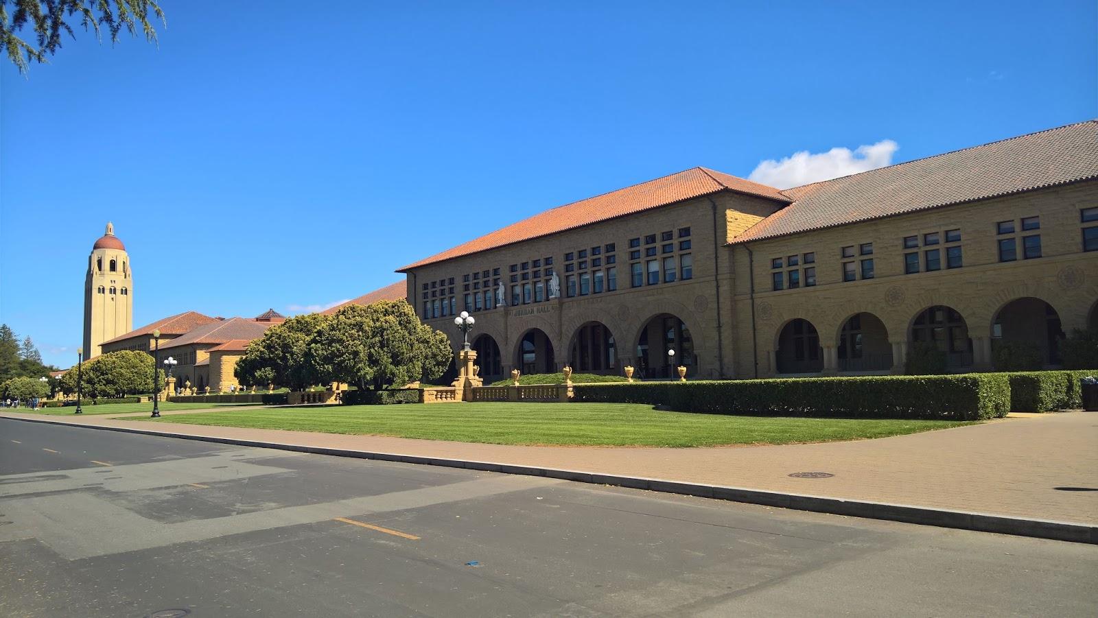 stanford university campus yliopisto kampus kalifornia mallaspulla matkailu