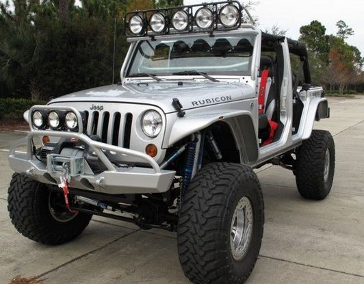 jeep wrangler KC lights