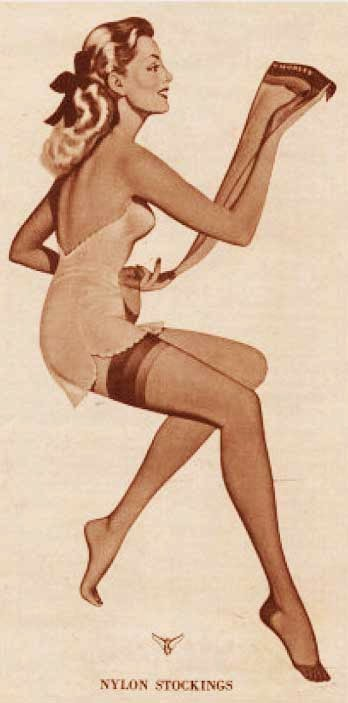 Nylon Stockings 115