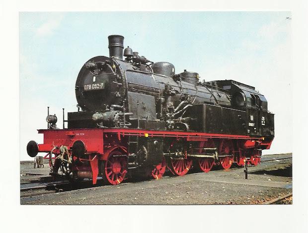 Railphilatelist Loco Steam Engines
