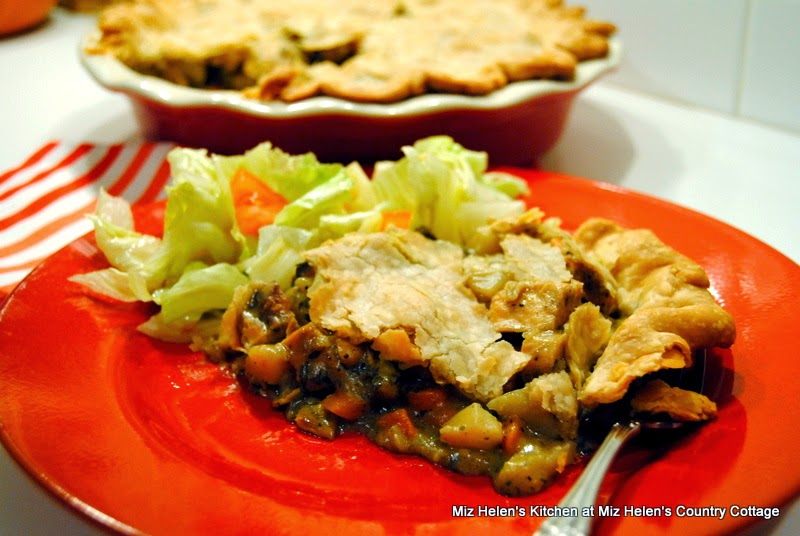 Turkey Pot Pie at Miz Helen's Country Cottage