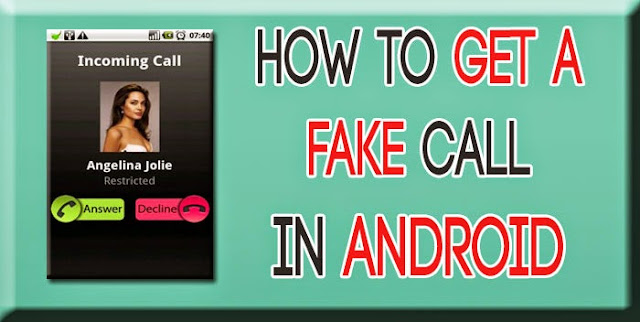 Fake call in android