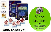 MIND POWER KIT AND VIDEO LECTURES ON VEDIC MEMORY