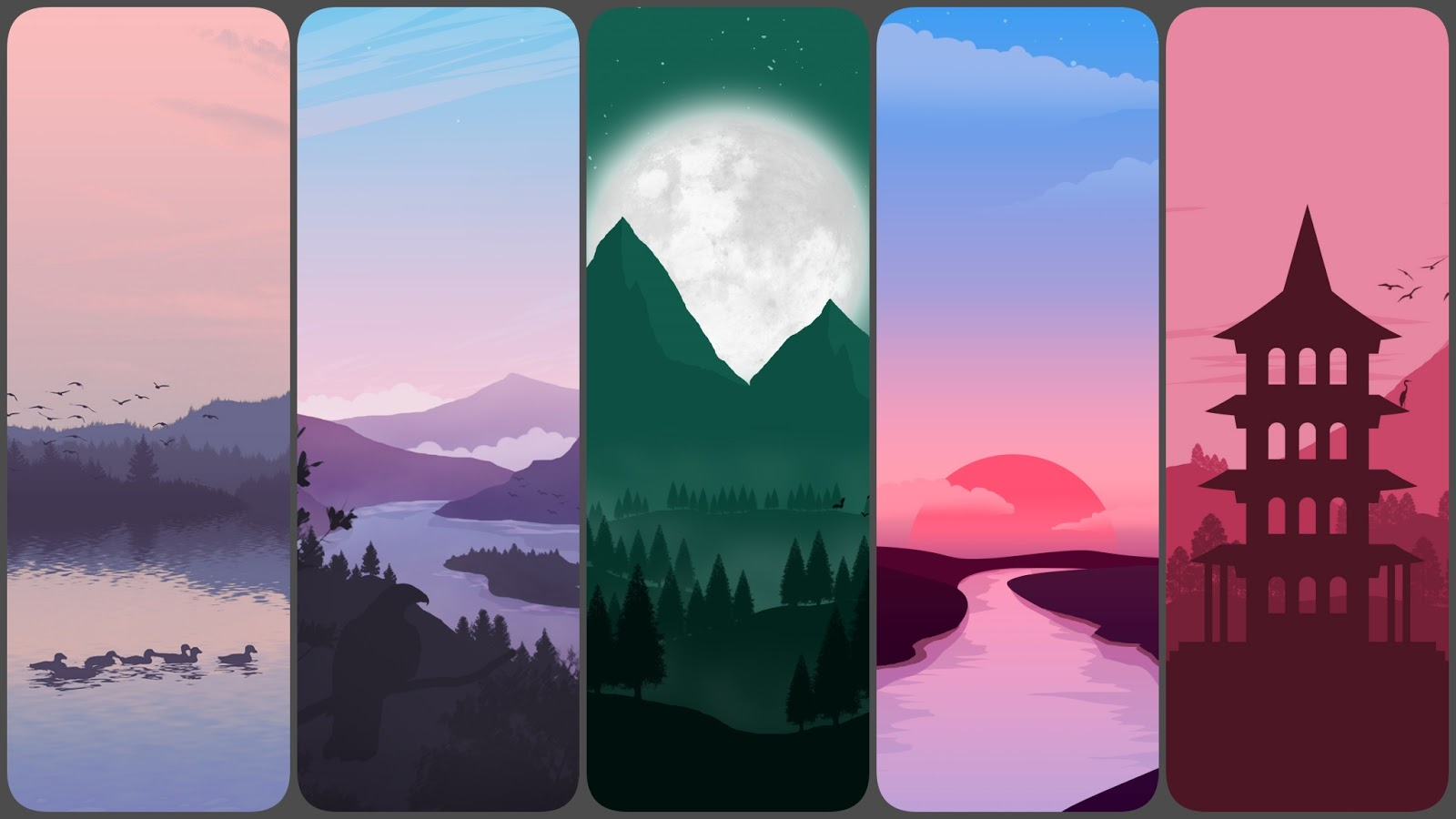 6 beautiful wallpapers for phone
