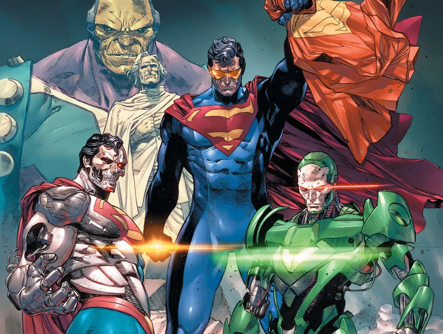 superman revenge squad dc rebirth