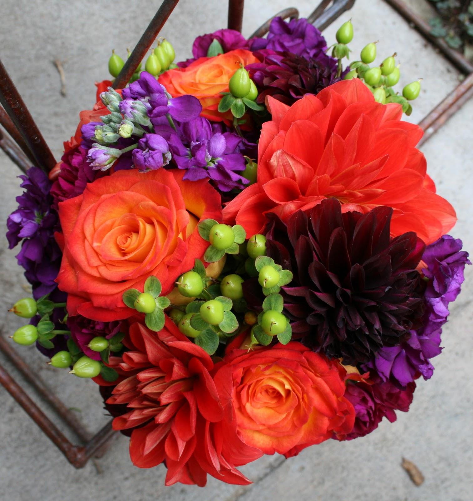 Elegant Purple Fall Flowers for Weddings – Wedding