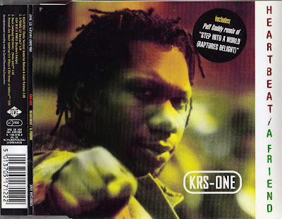 KRS-One – Heartbeat / A Friend (CDM) (1997) (FLAC + 320 kbps)