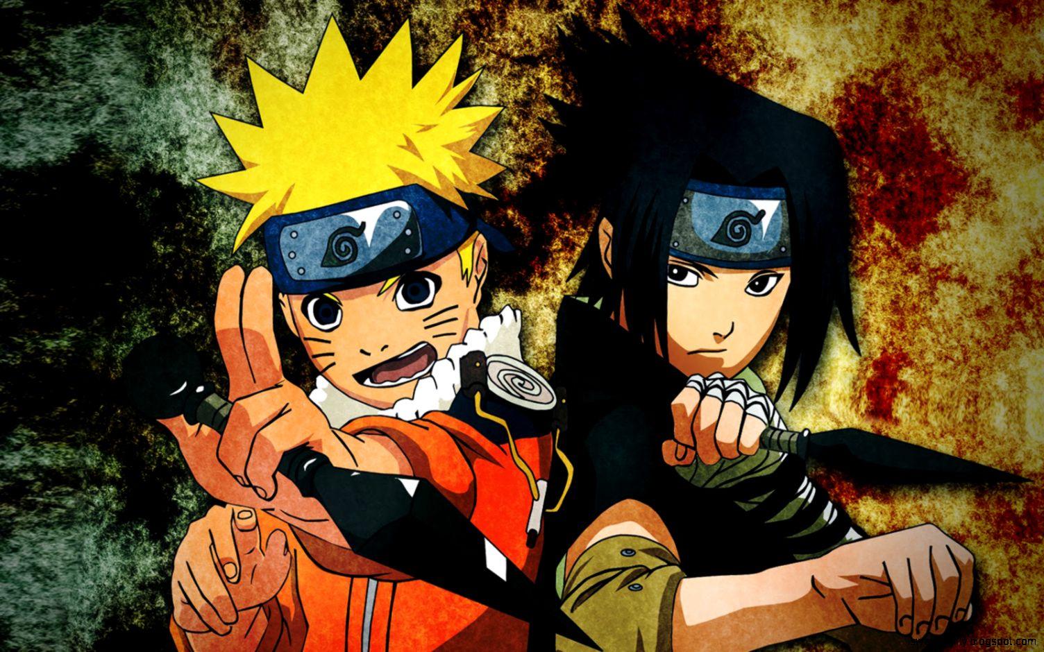 naruto uzumaki and sasuke uchiha naruto uzumaki and sasuke