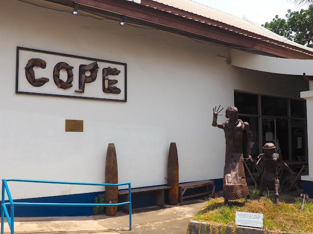 Cope centre, Vientiane, Laos