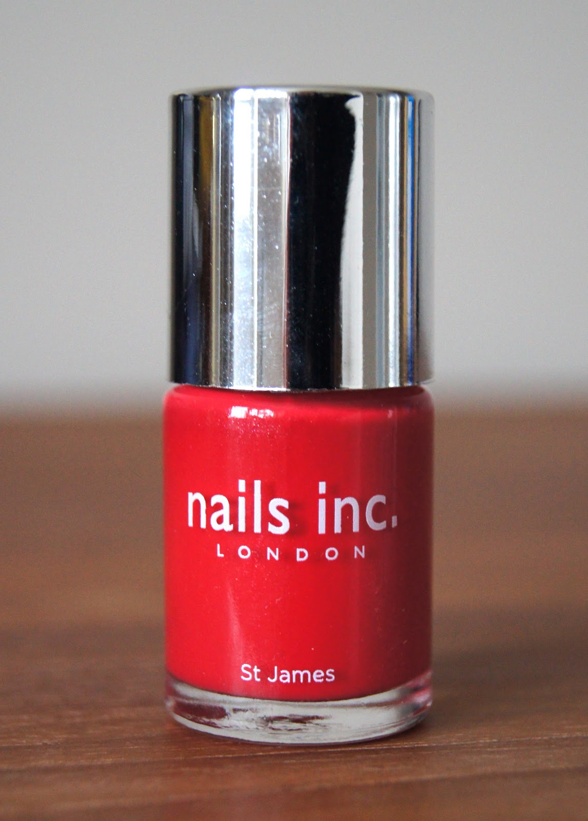 nails inc st james nail polish review