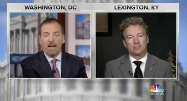 Rand Paul to Chuck Todd: 'I don't see what's illegal about wanting to build a hotel in Moscow