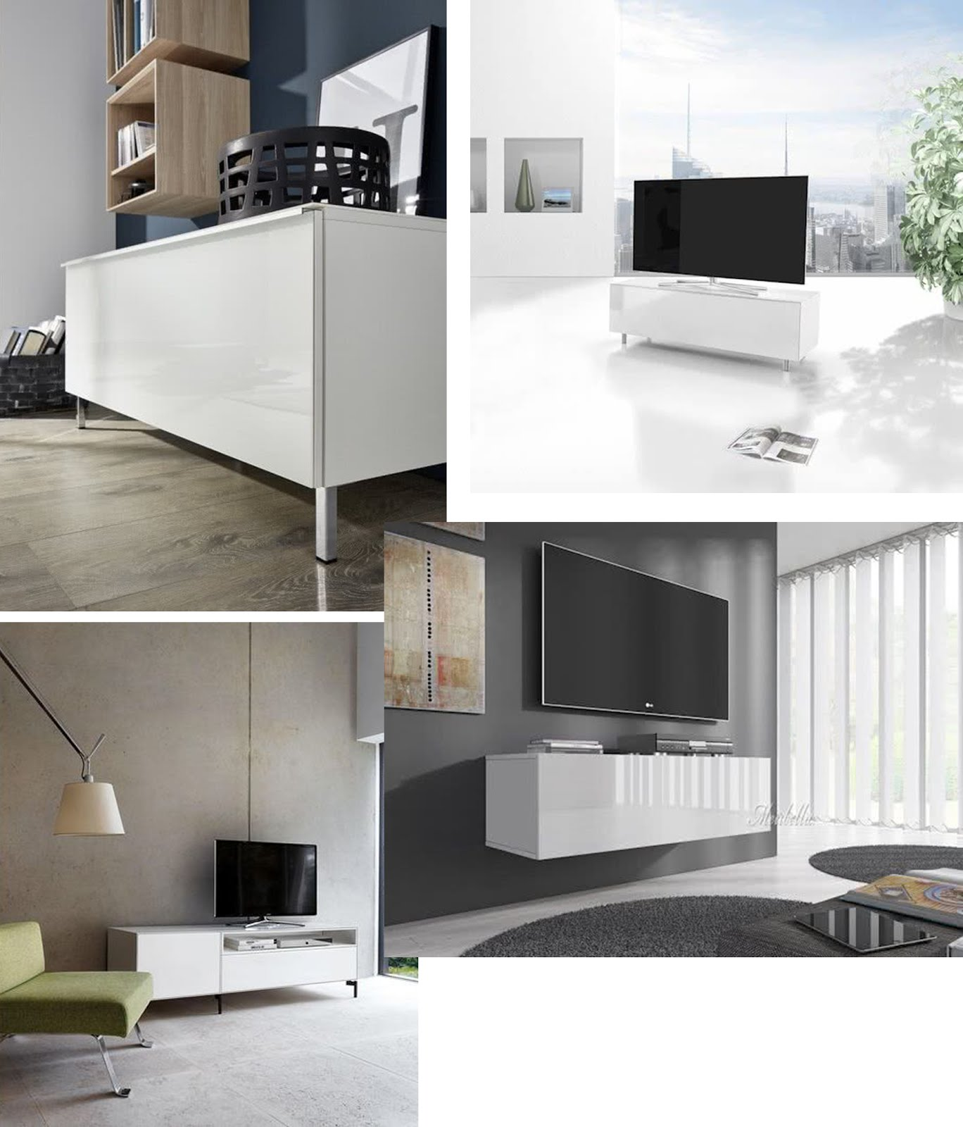 lions home, tv meubel, tv cabinet, wit, minimalistisch, minimal, interieur, interior design, white