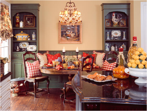 Key Interiors By Shinay: English Country Dining Room