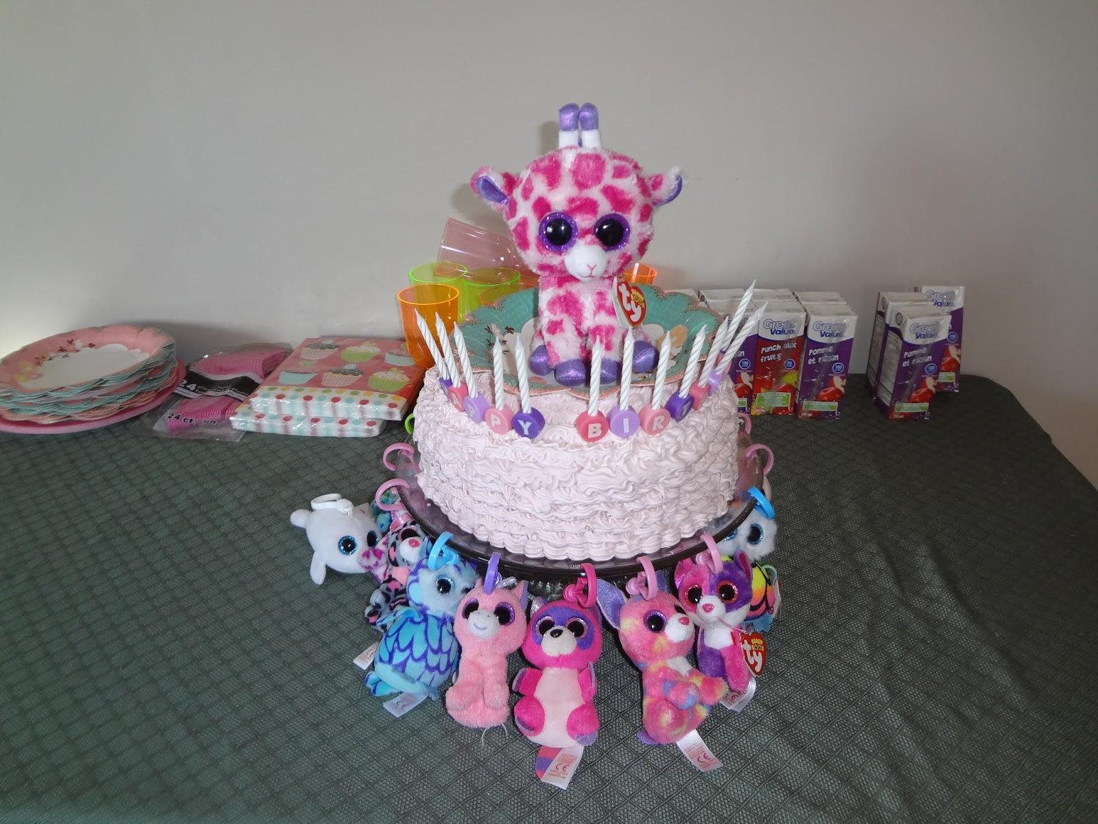 How To Make A Beanie Boo Birthday Cake