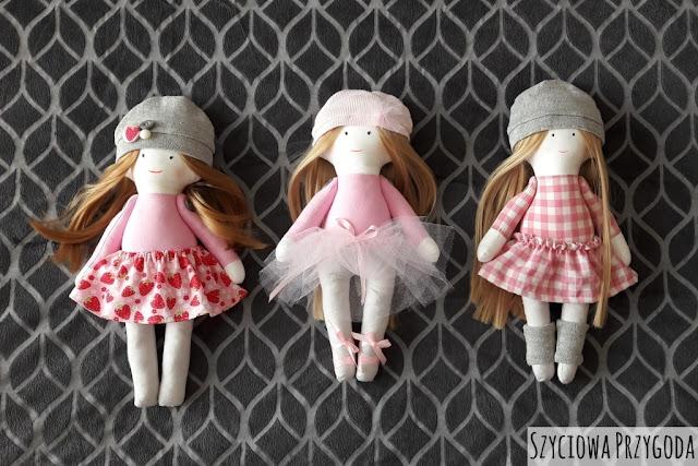 3 lalki z włosami do czesania
