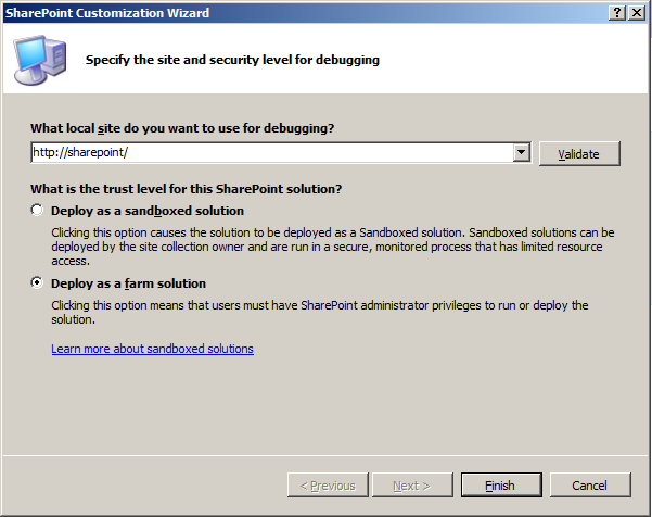 Build a deployable Content Type for SharePoint 2010