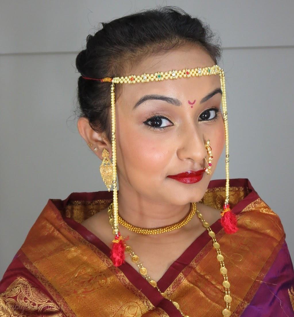 Wedding Hairstyle Maharashtrian: Bridal Beauty: Tutorial For A Bridal Eye Makeup That Goes