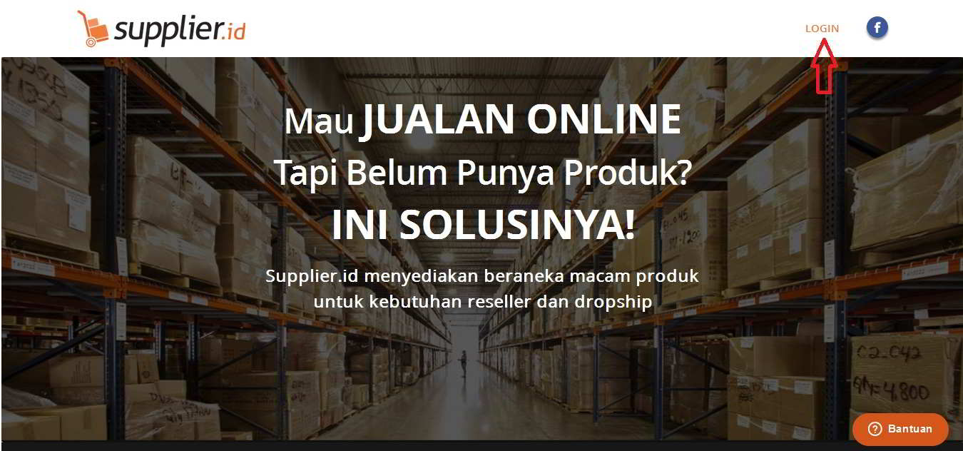 Tutorial Cara Daftar  SupplierID