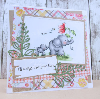 Heather's Hobbie Haven - I'll Always Have Your Back Card Kit