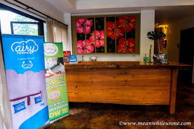 Hotel Review: Resepsionis Hotel Amira, Bandung