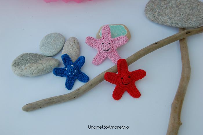 smile stelle marine crochet