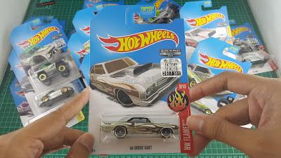 Hot Wheels Zamac Edition 68 Dodge Dart