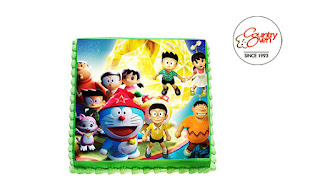 Stand By Me Doraemon Photo Cake