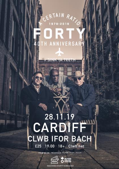 8 November 2019, Clwb Ifor Bach, Cardiff, Wales - ACR Gigography