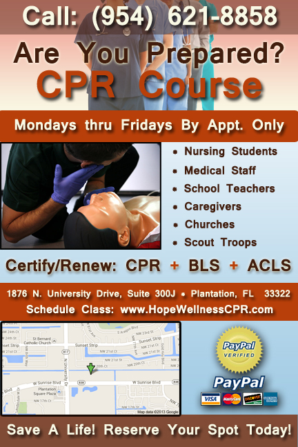 Hope Amp Wellness Cpr Trainers