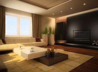 salón moderno y elegante