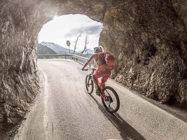 Mountainbike Uphill Löweneck
