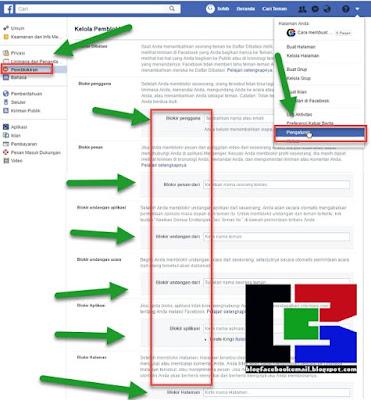 cara blokir teman orang di facebook lewat pc atau laptop