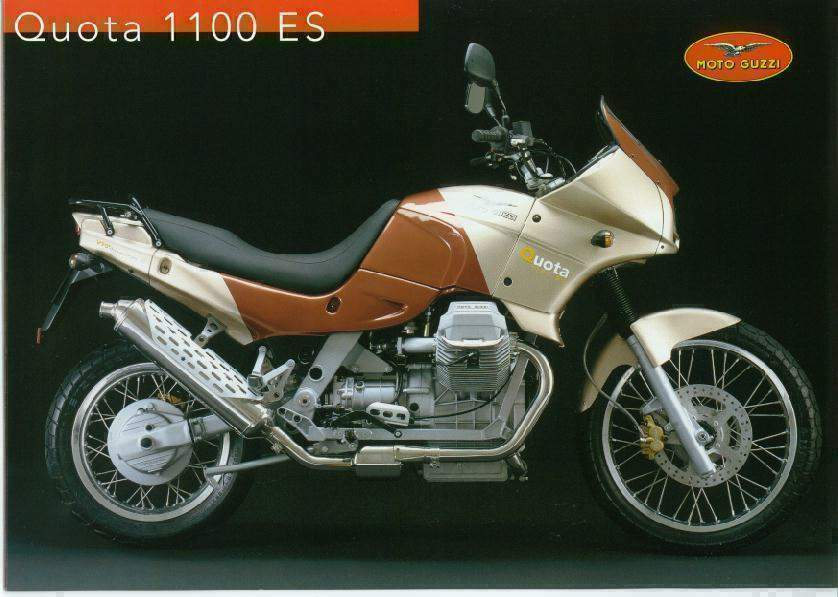 Moto Guzzi Quota 1100ES Motorcycle