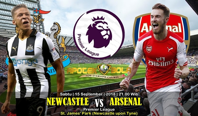 Prediksi Newcastle United Vs Arsenal FC 15 September 2018
