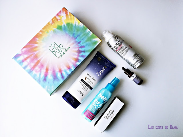 guapabox marzo girl power beauty beautybox belleza cabello facial comodynes nelly dove segle clinical