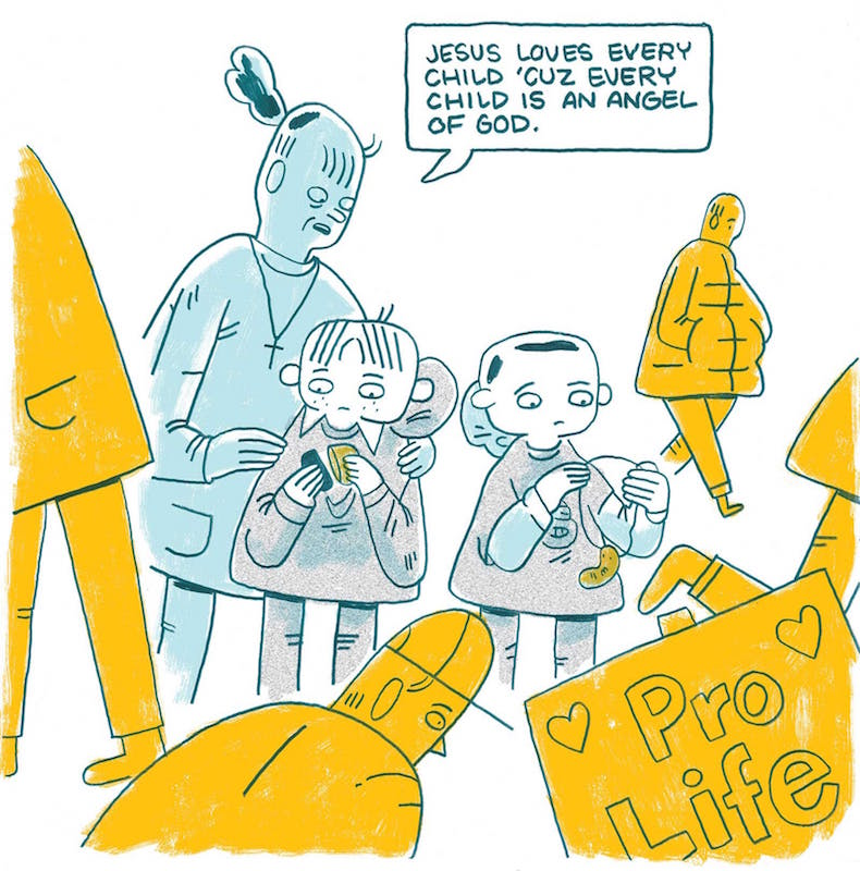 Returning to the March for Life, by Luke Howard.