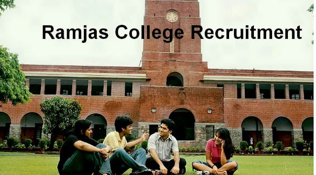 Ramjas College Recruitment 2017–2018, 128 Asst Professor Ramjascollege.edu