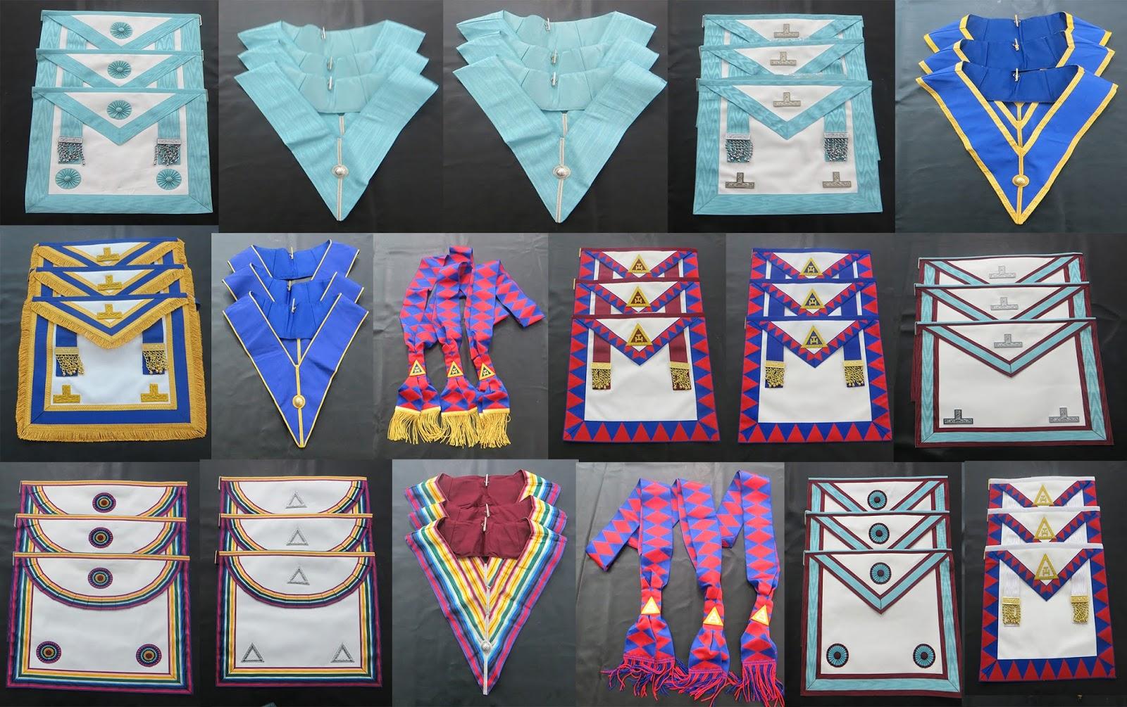 Craft master mason apron, craft worshipful apron, craft officer