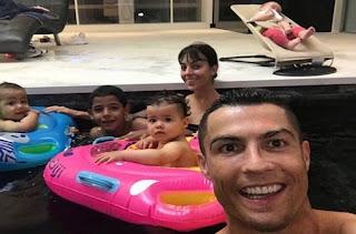 Στην Πύλο για οικογενειακές διακοπές ο Κριστιάνο Ρονάλντο