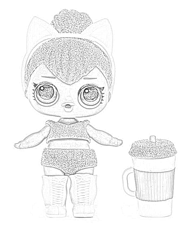 Enjoyable Coloring And Drawing Lol Glam Glitter Coloring Pages Interior Design Ideas Clesiryabchikinfo