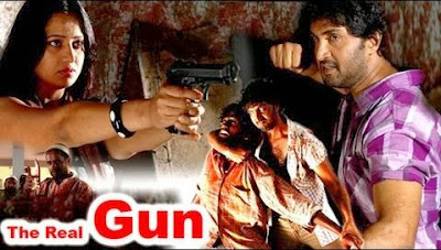 Poster Of The Real Gun (2011) Full Movie Hindi Dubbed Free Download Watch Online At worldfree4u.com