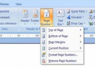 Cara Memberi Nomor Halaman Di Microsoft Word