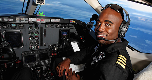<b>Meet the First Black Pilot to Fly Solo Around the World</b>